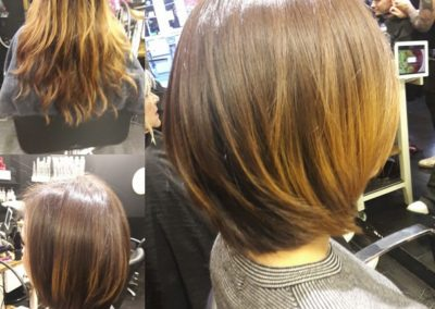 Frau Schneider Stylist Vienna - Haircut - Dyed Hair (1)